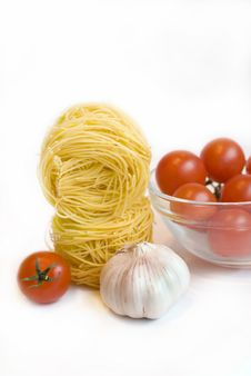 Everything Is Ready For Pasta. Royalty Free Stock Image