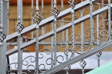 Free Handrail Detail Of Ladder Royalty Free Stock Photo - 14221655