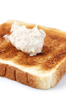 Free Mayonnaise Tuna Bread Stock Photography - 14221862