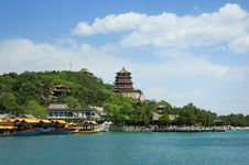 Free Summer Palace Royalty Free Stock Photography - 14222277
