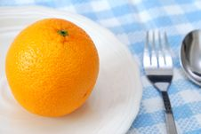 Free Closeup Of Orange For Dieting Royalty Free Stock Photo - 14222305
