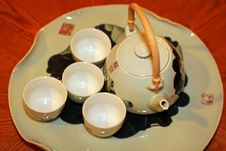 Free Teapot And Cup Stock Photos - 14222603