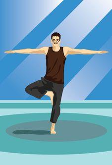 Free The Yoga Guru Stock Photography - 14222682