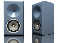 Free Pair Of Hi-fi Loudspeakers Stock Photography - 14222992