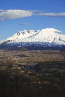 Mt. St. Helen S, National Monument & Park. Stock Photography