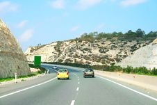 Free Road In Cyprus Stock Photos - 14223513