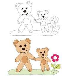 Free Teddy Bears Taking A Walk Royalty Free Stock Images - 14223519