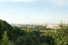 Free Moscow, Russia, The City View Royalty Free Stock Image - 14223636