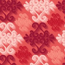 Free Seamless Ornament Pattern Royalty Free Stock Photos - 14224508