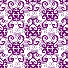 Free Seamless Ornament Pattern Royalty Free Stock Images - 14224549