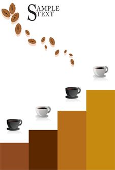 Free Coffee Cup Modern Poster Stock Photography - 14225022