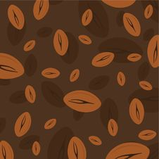 Free Coffee Bean Wallpaper Royalty Free Stock Photography - 14225047
