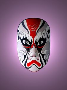 Mask Of Chinese Opera Royalty Free Stock Photos