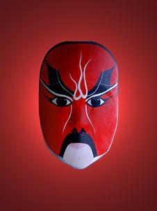 Mask Of Chinese Opera Stock Photos