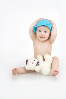 Free Child With Toy. Royalty Free Stock Photography - 14226777