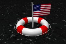 USA Oil Spill Royalty Free Stock Photos