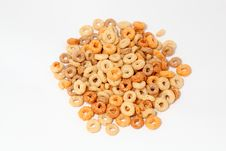 Free Oat Hoops Royalty Free Stock Photos - 14226988