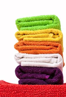 Free Towels. Royalty Free Stock Photography - 14227647