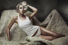 Free Young Blond Beauty Stock Photo - 14228930