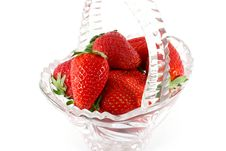 Free Strawberries In A Basket Stock Photos - 14228963