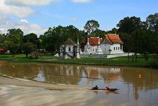 Free Scene Of Maeklong River Royalty Free Stock Photo - 14229275
