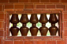 Free Earthenware Pots Wall Stock Photos - 14229383