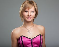 Young Woman Posing In Studio Stock Photos