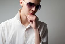 Free Pensive Young Man Stock Photography - 14229822