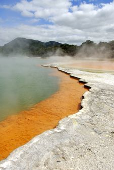 Free Pallette Pool In Rotorua Royalty Free Stock Photography - 14229847