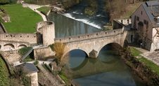 Free Medieval Stone Bridge Stock Photography - 14229942
