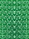 Free Green Seamless Flower Pattern Stock Photos - 14239883
