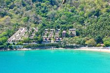 Nai-han Beach Phuket Thailand On April 2010 Stock Image