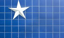Free Blue Star Background Stock Photography - 14230352