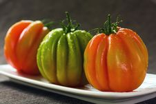 Free Three Tomatoes Royalty Free Stock Image - 14230656