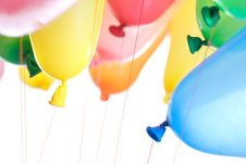 Free Color Balloons Isolated Stock Image - 14230971