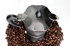 Free Coffee Machine Stock Photography - 14231622