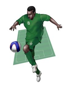 Team Nigeria Stock Image