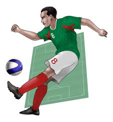 Team Mexico Royalty Free Stock Photo