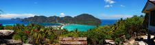Free Phi Phi Panorama View Point Stock Photography - 14232762