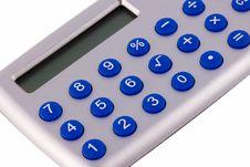 Free Close Up Of Calculator Stock Photo - 14232800