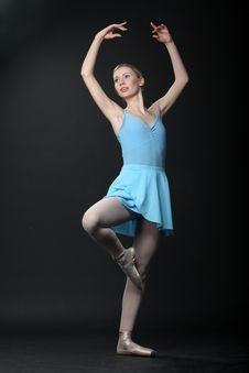 Free Dancing Ballerina Royalty Free Stock Photo - 14232855