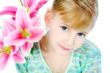 Free Cute Girl Royalty Free Stock Photos - 14233258