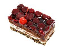 Free Cherry Cake Stock Image - 14233411