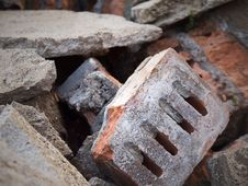 Broken Old Construction Material Stock Photography