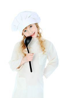 Free Little Cook Royalty Free Stock Images - 14233739