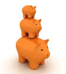 Free Piggy Bank Stock Photos - 14234023