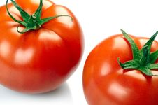 Free Two Tomatoes Stock Image - 14234371