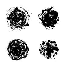 Free Inkblots Stock Image - 14234801