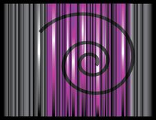 Background With Stripes And Spiral Royalty Free Stock Photo