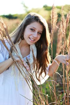Free Teenager In Nature Royalty Free Stock Photos - 14236868